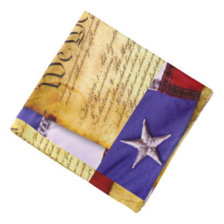 We the People Constitution of the United States Kerchief