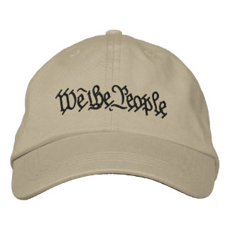 WE THE PEOPLE... EMBROIDERED HAT
