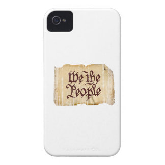 We the People Faded.png iPhone 4 Cases