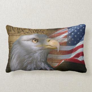 We The People Lumbar Pillow