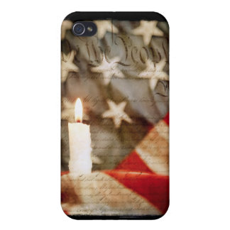 We the People Memorial Candle iPhone 4 Case