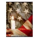 We the People Memorial Candle Postcard