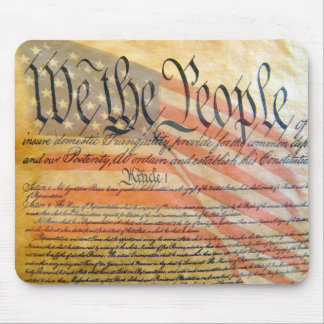 """""""We The People"""" Mouse Mat"""