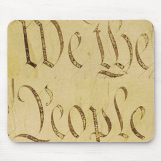 We The People Mouse Mat