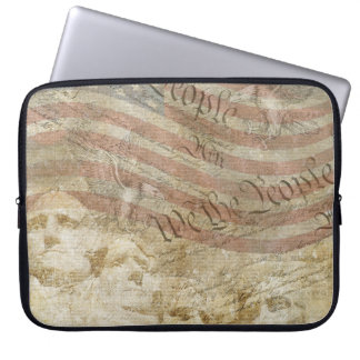 We the People Mt Rushmore Patriotic Flag Sleeve