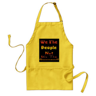 We the people not we the government aprons