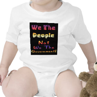We the people not we the government tees