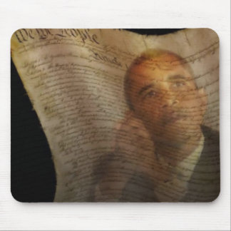We The People Obama Oil Painting Mouse Pad