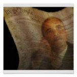 We The People Oil Painting Poster