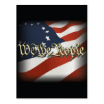 We The People Post Cards