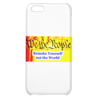 We The People Remake Yourself The MUSEUM Zazzle Gi iPhone 5C Cases