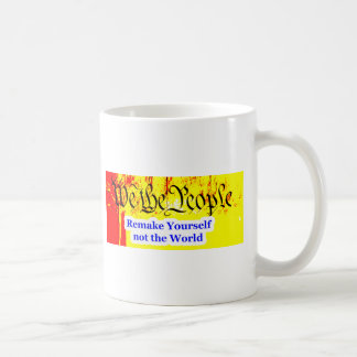 We The People Remake Yourself The MUSEUM Zazzle Gi Mugs