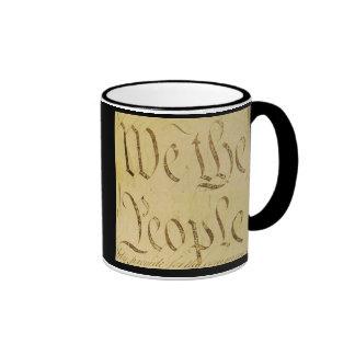We The People Ringer Mug