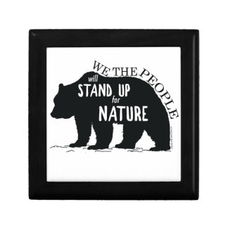 We the people stand up for nature - bear gift box