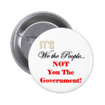 We the People Tea Party T-shirts Badge