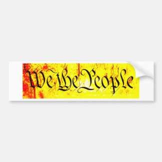 We The People The MUSEUM Zazzle Gifts Bumper Sticker