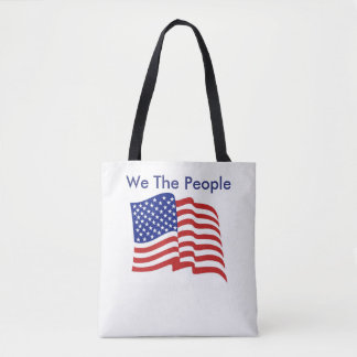 We The People Tote/Crossover Bag