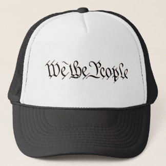 We the people trucker hat