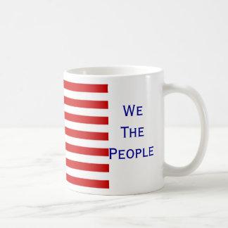 We The People USA Flag Coffee Mug by Janz
