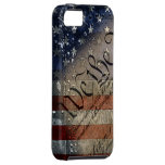 We The People Vintage American Flag iPhone 5 Cover