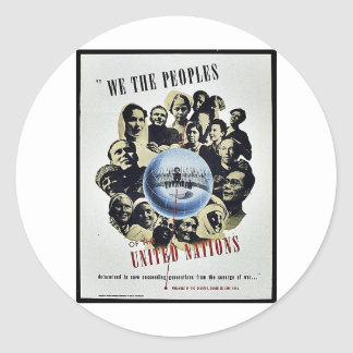 We The Peoples Sticker