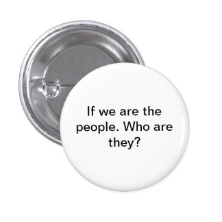 We the Ppeople 3 Cm Round Badge