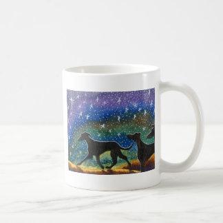 We three greyhound dogs mugs