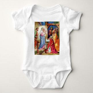 We Three Kings Baby Bodysuit