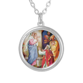 We Three Kings Silver Plated Necklace
