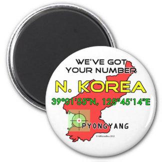 We ve Got Your Number North Korea Fridge Magnets