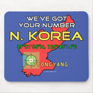 We ve Got Your Number North Korea Mouse Pad
