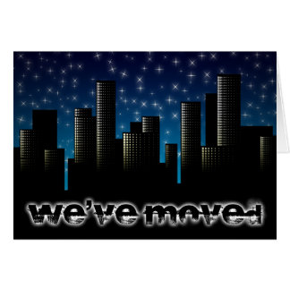 we ve moved announcement cityscape cards