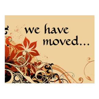 we ve moved announcement post cards