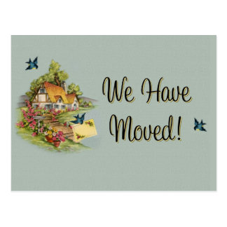 We ve Moved Announcement Postcards