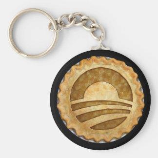 """""""We Want Pie!"""" Obama Pie Keychain"""