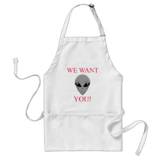 WE WANT YOU! APRON