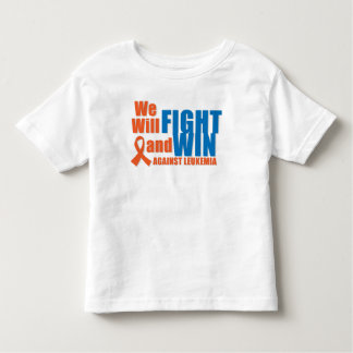 We Will Fight and Win Against Leukemia Tee Shirt