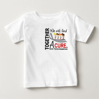 We Will Find A Cure Brain Tumor Baby T-Shirt