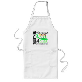 We Will Find A Cure Lymphoma Long Apron