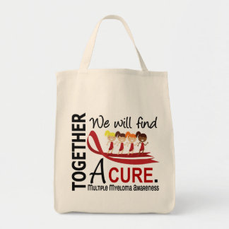 We Will Find A Cure Multiple Myeloma Grocery Tote Bag