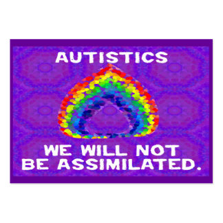 We Will Not Be Assimilated Activist Cards Business Card Templates
