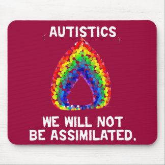 We Will Not Be Assimilated Mousepad