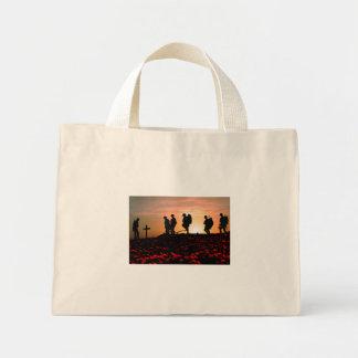 We Will Remember Them Mini Tote Bag