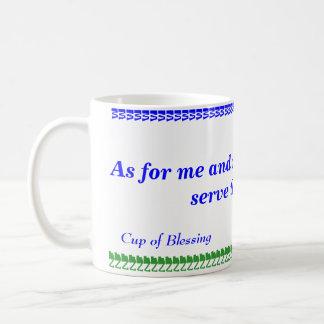 """...we will serve the LORD"" Mug"