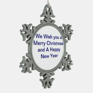 We Wish you A Meerry Christmas Ornament