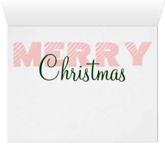 We wish you a Merry Christmas BIG Greeting Cards