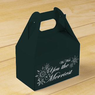 We Wish You the Merriest Party Favour Box