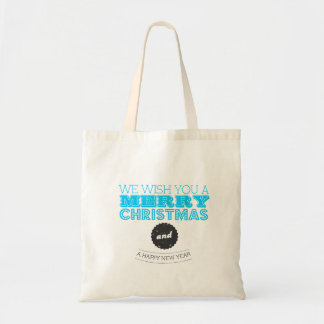 We wish you to Merry Christmas and to Happy New Ye Tote Bags