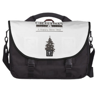 We wish you to Merry Christmas and to Happy New Ye Laptop Messenger Bag