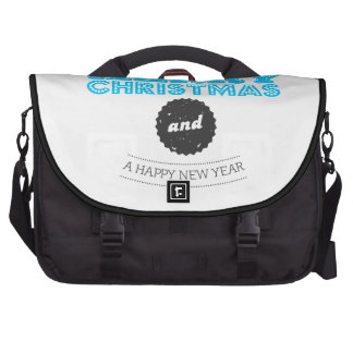 We wish you to Merry Christmas and to Happy New Ye Laptop Shoulder Bag
